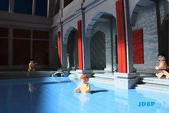 Hot Water (peggyjdb) Tags: england history bath lego roman britain sulis britishhistory aquasulis sulisminerva