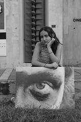 Expo (juanczuluaga17) Tags: self ojo photo retrato bn hipbotunsquare