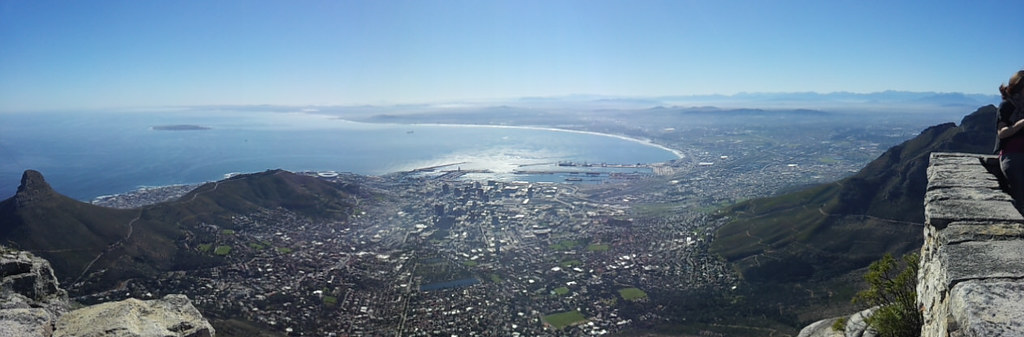 Cape Town From Table Mountain, Cape Town, South Africa