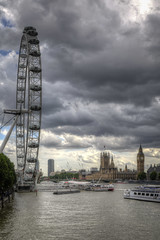London Eye and Big Ben1-4 (FitzinCC) Tags: londonhdr