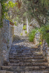 stairs of greek village (awit.shot) Tags: street door old city travel blue homes sea summer sky people plants sunlight white house flower tourism window nature colors beautiful yellow stone wall architecture stairs yard buildings outdoors greek islands town europe mediterranean day cityscape exterior village apartment traditional steps entrance culture scene structure architectural countries greece human staircase villa residential idyllic vacations cyclades locations settlement destinations