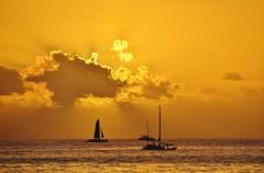 Sailing as the Sun Sets (mmdurango) Tags: waikiki sunsets honolulu waikikisunset