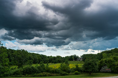 Incoming storm (_Matt_T_) Tags: beamerconservationarea k5iis pentax smcpda21mmf32al summer clouds rain sky stopactionfilm storm wideangle