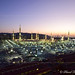 Morning twilight view over the Prophet's Mosque