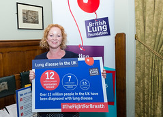 British Lung Foundation Respiratory Health of the Nation at the Houses of Parliament