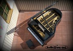 Mini piano forte (pe.kalina) Tags: scale miniature doll furniture piano grand chopin 112 forte dollhouse
