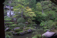 Garden of a shukubo