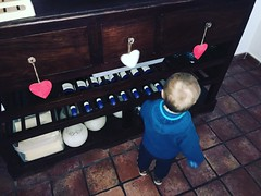 Little helper getting things ready for reopening on Tuesday evening! 💗#capepe #moraira