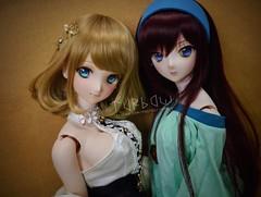 Sayuri & Alice (TURBOW) Tags: doll toy dollfie volks dollfiedream dd dollfiedreamdynamite dddy saberlily alicekuonji wdsfaceup lightlybatteredfaceup lullabypoemwig wdseyes