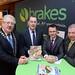 Joe Dolan, IHF President, Alan Waites, Brakes, Minister Patrick O'Donovan and Billy Murphy, Brakes