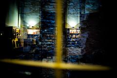 L1001402 (Bruno Meyer Photography) Tags: besançon bookstore night reflection insideout inside out books imagine photography raw edit leica leicaimages leicacamera leicam240 leicacamerafrance 35mm summarit wall windows light