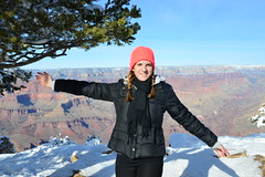 Grand Canyon 23 (Krasivaya Liza) Tags: grandcanyon grand canyon national park canyons nature natural wonder az arizona holiday christmas 2016 snowy winter cliffs cliffside edgeofcliff