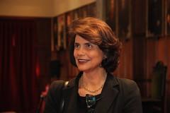 Teresa Morais na Sessão comemorativa do Dia Internacional da Mulher
