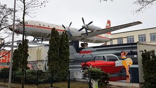 Ilyushin Il.18V c/n 180002001 Interflug DDR-STB preserved in Leipzig, Germany