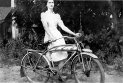 Riding bikes (CornandCotton) Tags: georgia rebecca genealogy bullington turnercounty