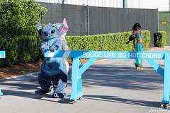 Stitch closes the gate (disneylori) Tags: stitch princess jasmine disney disneyworld characters wdw liloandstitch waltdisneyworld disneyprincess streetsofamerica hollywoodstudios facecharacters nonfacecharacters meetandgreetcharacters aladdincharacters liloandstitchcharacters disneychararacters