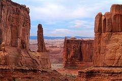 Park Avenue (arbyreed) Tags: sandstone desert moab geology redrock archesnp parkavenue sandstoneformations redsandstone sedimentaryrock desertvarnish utahgeology arbyreed grandcountyutah