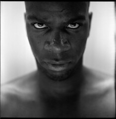 Steed Tchicamboud (Braca Nadezdic) Tags: portrait blackandwhite bw analog rolleiflex portraits kodak tmax tmax400 rollfilm