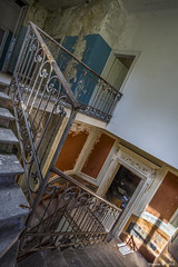 Villa la B. HDR (07) (Maestro-Photography) Tags: house castle abandoned home farmhouse canon ruins decay farm exploring places ruine forgotten urbanexploration 7d villa mansion huis chateau maison deserted hdr decayed kasteel urbex woning verval verlaten leegstaand