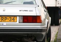Maserati 420 Biturbo (timvanessen) Tags: abandoned car turbo bi deserted