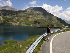 Ceresole Reale - Parco Gran Paradiso (Luca131313) Tags: parco cloud montagna diga granparadiso ceresolereale iphone5 lagoserr luca131313