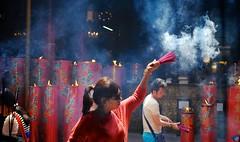 Incense, Kota Tua (MrCrisp) Tags: indonesia worship asia buddhist prayer buddhism jakarta