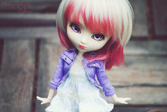 Ayanne♥ (~~☆ Oshua☆~~) Tags: pink rose photography model doll collection planning blond wig blonde pullip custo jun customised poupée junplanning rewigged stica crobi pullipstica crobidoll oshua rewiggée custmisée