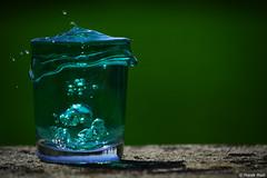 Splash! (Madl Marek) Tags: green water glass speed photography nikon photographer fast shutter splash backround splas