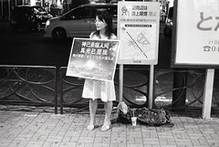 Chinese evangelical Christian, Nishi Kawaguchi (View Master 187) Tags: b yellow japan kodak trix hc110 filter 400 konica 40mm f18 20c ft1 hexanon 6min dilution