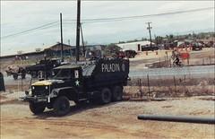 """""""Paladin"""" 545th Transportation Company (Jerzy Krzemiski) Tags: vietnam company transportation m113 guntruck"""