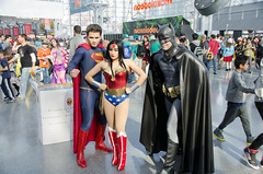 Superman, Wonder Woman and Batman Cosplay (vince.ng86) Tags: woman wonder dc comic cosplay superman batman con nycc