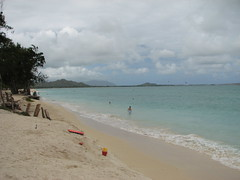 Kailua Beach (carrythebanner) Tags: ocean beach hawaii oahu pacificocean kailuabeach windwardcoast circleisland