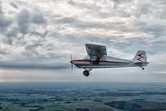 Vol en ULM Tetras (ykay-online) Tags: blue sky cloud plane airplane fly pioneer pilot ulm aero aile ykay ykayonline