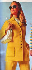 Wards 71 ss yellow suit (jsbuttons) Tags: yellow 1971 clothing buttons 71 womens 70s catalog seventies wards vintagefashion