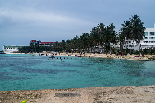 San Andrés Downtown Beach