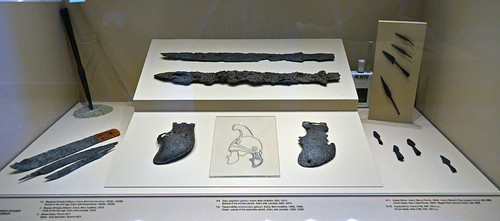 Iron armaments from the region around Aiane