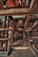 We are the Borg. Resistance is futile (Dave-a-roni (Dark Spot Photography)) Tags: abandoned rust urbanexploration hdr urbex borgcube coalbreaker nikond5000