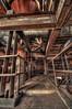 We are the Borg. Resistance is futile (Dave-a-roni (Dark Spot Photography)) Tags: abandoned rust urbanexploration hdr urbex borgcube coalbreaker nikond5000