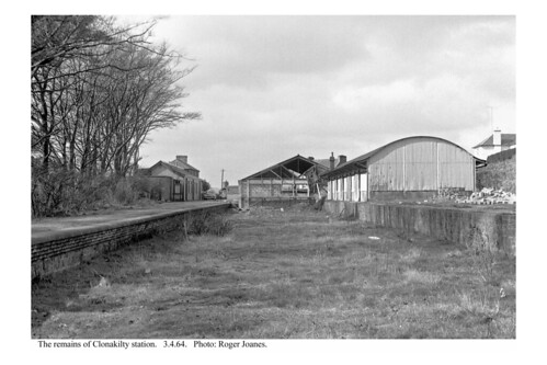 Clonakilty. Remains of the station. 3.4.64