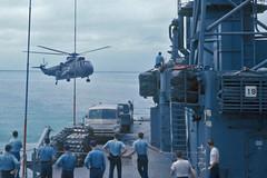 SH-3A Sea King BuNo 149713, VH-42 (skyhawkpc) Tags: us aircraft aviation military navy naval usnavy usn seaking sikorsky flagship 7thfleet sh3a ussprovidence sh3h 149713 clg6 danverver hc7seadevils vh42