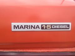 Morris marina 1.5 diesel (seanofselby) Tags: diesel morrismarina15