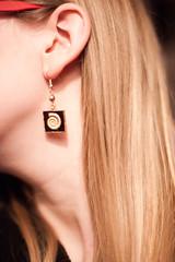 (evilibby) Tags: face earring ear blonde libby ammonite 365 365days 3656 365days6 ammonoidea