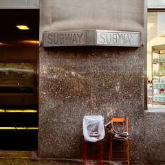 23rd Street Subway, Rainy January Morning, Manhattan (Jeffrey) Tags: nyc newyorkcity morning winter newyork rain subway manhattan january entrance midtown rainy nomad flatiron subways 20s gramercy madisonsquare entrances 23rdstreet 2014