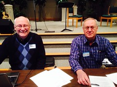 Chairperson is Rev. William Renkema, and Rev. Ken Van Wyk is recording clerk