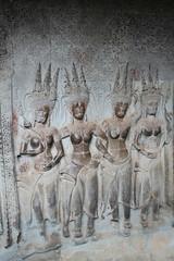 Apsaras - Angkor Wat (canal.steve) Tags: temple cambodia angkorwat siemreap