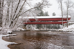 Swift River Covered Bridge (Adam Woodworth) Tags: conway newengland newhampshire whitemountains coveredbridge swiftriver swiftrivercoveredbridge