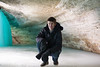 Cameraman in an Ice Cave (Samantha Vilendrer) Tags: winter cold ice minnesota fun frozen waterfall burr mn tundra minnehaha minnehahafalls d600