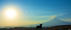 Mighty (Blas Torillo) Tags: sunset naturaleza sun sol nature méxico landscape mexico volcano nikon publicidad paisaje advertisement puestadesol puebla professionalphotography volcán popocatépetl fotografíaprofesional mexicanphotographers d5200 fotógrafosmexicanos nikond5200