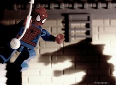 The Amazing Spider-Man (Legoagogo) Tags: canon lego spiderman lizard chichester moc legoagogo