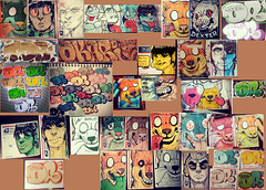 More stickums (OKARIEN) Tags: street art illustration graffiti montana paint graphic dumb stickers labels novel characters usps sketches prismacolor markers dingo bic chartpak copics molotow throwies breadbox promarker decocolor okarien {vision}:{outdoor}=0674 {vision}:{text}=064